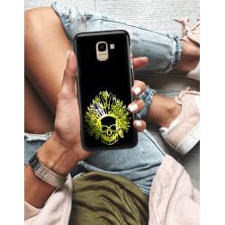 ETUI NA TELEFON SAMSUNG GALAXY J6 2018 NEON MIENIĄCE SIĘ ZLI120