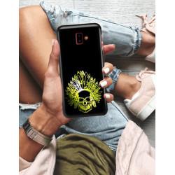 ETUI NA TELEFON SAMSUNG GALAXY J6 PLUS 2018 NEON MIENIĄCE SIĘ ZLI120
