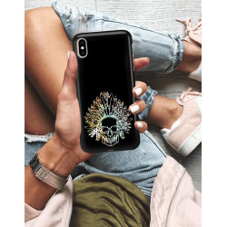 ETUI NA TELEFON APPLE IPHONE XS MAX NEON MIENIĄCE SIĘ ZLN120
