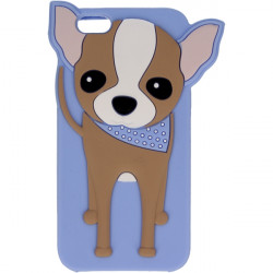 ETUI 3D DOGGY IPHONE 6 4.7'' NIEBIESKI