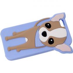 ETUI 3D DOGGY IPHONE 6 4.7'' NIEBIESKI