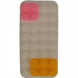 ETUI 3D KLOCKI IPHONE 5G BIAŁY