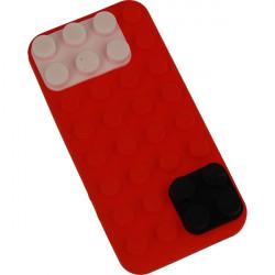 ETUI 3D KLOCKI IPHONE 5G CZERWONY