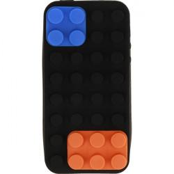ETUI 3D KLOCKI IPHONE 5G CZARNY