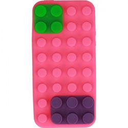 ETUI 3D KLOCKI IPHONE 5G RÓŻOWY