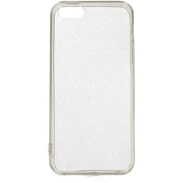 IRON CASE ETUI NA TELEFON IPHONE 5G TRANSPARENTNY