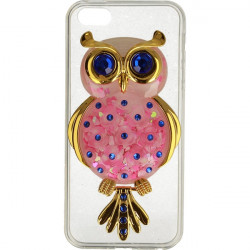 ETUI LIQUID OWL IPHONE 5G RÓŻOWY