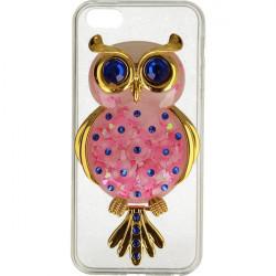 ETUI LIQUID OWL IPHONE 5G RÓŻOWY