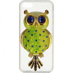 ETUI LIQUID OWL IPHONE 5G ZIELONY