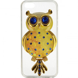 ETUI LIQUID OWL IPHONE 5G ŻÓŁTY