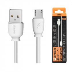 KABEL USB REMAX RC-134 MICRO USB BIAŁY