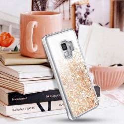 ETUI LIQUID SPARKLE NA TELEFON SAMSUNG A6 2018 ZŁOTY