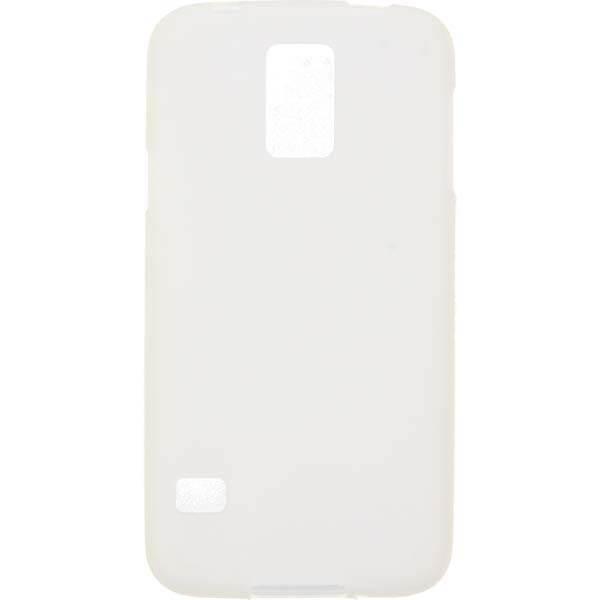 GUMA SMOOTH ETUI NA TELEFON SAMSUNG GALAXY S5 G900 I9600 BIAŁY