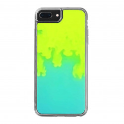 ETUI LIQUID NEON NA TELEFON IPHONE 6 PLUS ZIELONY