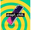 ETUI LIQUID NEON NA TELEFON IPHONE XS MAX POMARAŃCZOWY