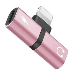 ADAPTER 2w1 IPHONE ROSE GOLD