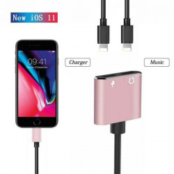 ADAPTER 4w1 IPHONE 5G CZERWONY