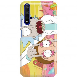 ETUI NA TELEFON HUAWEI HONOR 20 RICK I MORTY RIM72