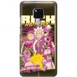 ETUI NA TELEFON HUAWEI MATE 20 X RICK I MORTY RIM28