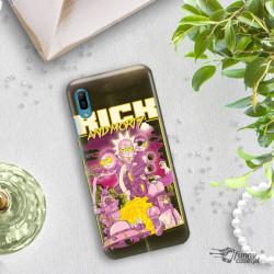 ETUI NA TELEFON HUAWEI Y6 2019 RICK I MORTY RIM28