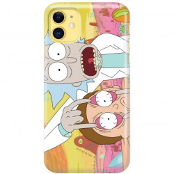 ETUI NA TELEFON APPLE IPHONE 11 RICK I MORTY RIM72
