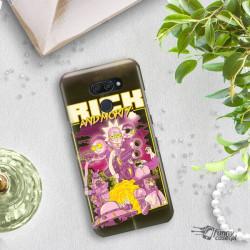ETUI NA TELEFON LG K50 / Q60 RICK I MORTY ST_RIM-2020-1-101