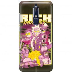 ETUI NA TELEFON NOKIA 5.1 RICK I MORTY RIM28