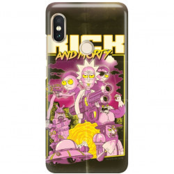 ETUI NA TELEFON XIAOMI REDMI NOTE 5 PRO CAMERA RICK I MORTY RIM28