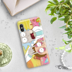 ETUI NA TELEFON XIAOMI REDMI NOTE 5 PRO CAMERA RICK I MORTY RIM72