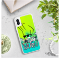ETUI LIQUID NEON NA TELEFON IPHONE X/XS ZIELONY JohnnyBravo105