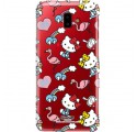 ETUI NA TELEFON SAMSUNG GALAXY J6 PLUS 2018 ST_HELLO-KITTY304