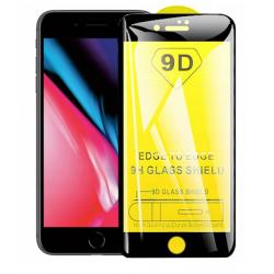 SZKŁO HARTOWANE BLACK IRON GLASS 9D IPHONE 7 / 8