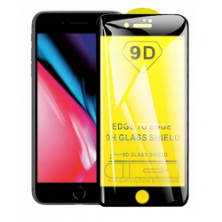 SZKŁO HARTOWANE BLACK IRON GLASS 9D IPHONE 7 PLUS / 8 PLUS