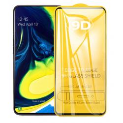 SZKŁO HARTOWANE BLACK IRON GLASS 9D SAMSUNG A80