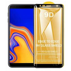 SZKŁO HARTOWANE BLACK IRON GLASS 9D SAMSUNG J4 PLUS 2018