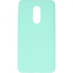 CASE RUBBER SMOOTH XIAOMI REDMI NOTE 4 MINT