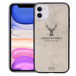 ETUI DEER NA TELEFON IPHONE 11 SZARY