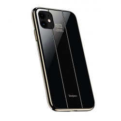 ETUI GLASS NA TELEFON IPHONE 11 CZARNY