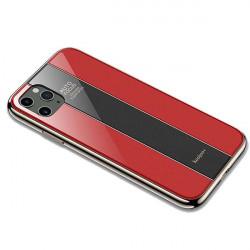 ETUI GLASS NA TELEFON IPHONE 11 PRO MAX CZERWONY
