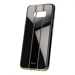 ETUI GLASS NA TELEFON SAMSUNG GALAXY S8 CZARNY