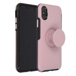 ETUI JOY NA TELEFON  IPHONE X/XS RÓŻOWY