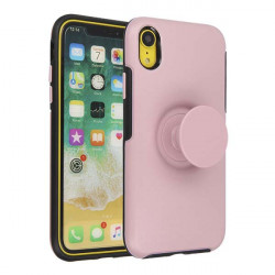 ETUI JOY NA TELEFON  IPHONE XR RÓŻOWY