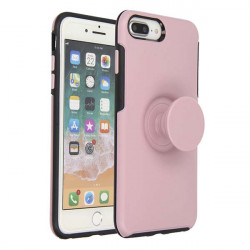 ETUI JOY NA TELEFON  IPHONE 7 PLUS / 8 PLUS RÓŻOWY
