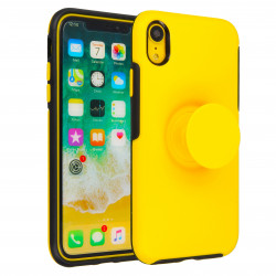 ETUI JOY NA TELEFON  IPHONE XR ŻÓŁTY