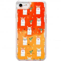 ETUI LIQUID NEON NA TELEFON APPLE IPHONE XR Pomarańczowy ST_ALP144