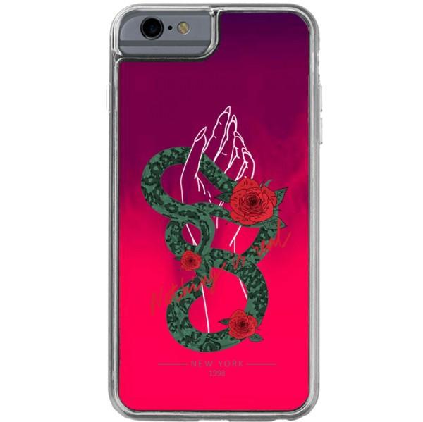 ETUI LIQUID NEON NA TELEFON APPLE IPHONE 6 / 6S Różowy ST_PCN115
