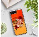 ETUI LIQUID NEON NA TELEFON APPLE IPHONE 7 PLUS / 8 PLUS Pomarańczowy ST_PCN138