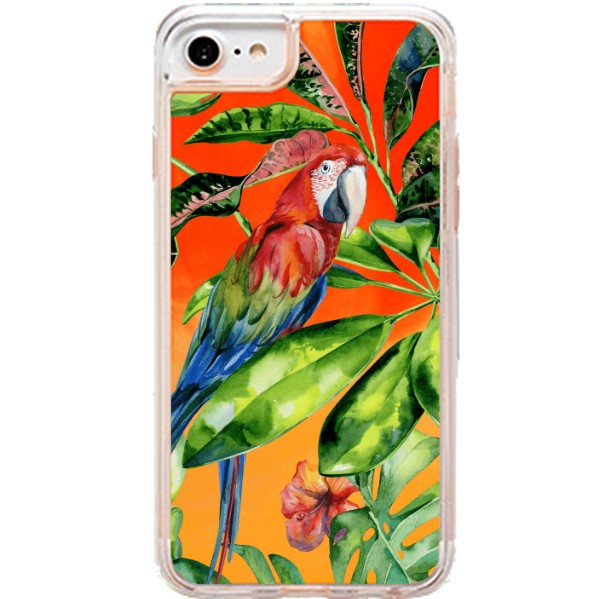 ETUI LIQUID NEON NA TELEFON APPLE IPHONE XR Pomarańczowy TROPIC-18