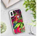 ETUI LIQUID NEON NA TELEFON APPLE IPHONE X / XS Różowy TROPIC-18