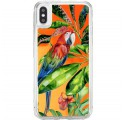 ETUI LIQUID NEON NA TELEFON APPLE IPHONE X / XS Pomarańczowy TROPIC-18